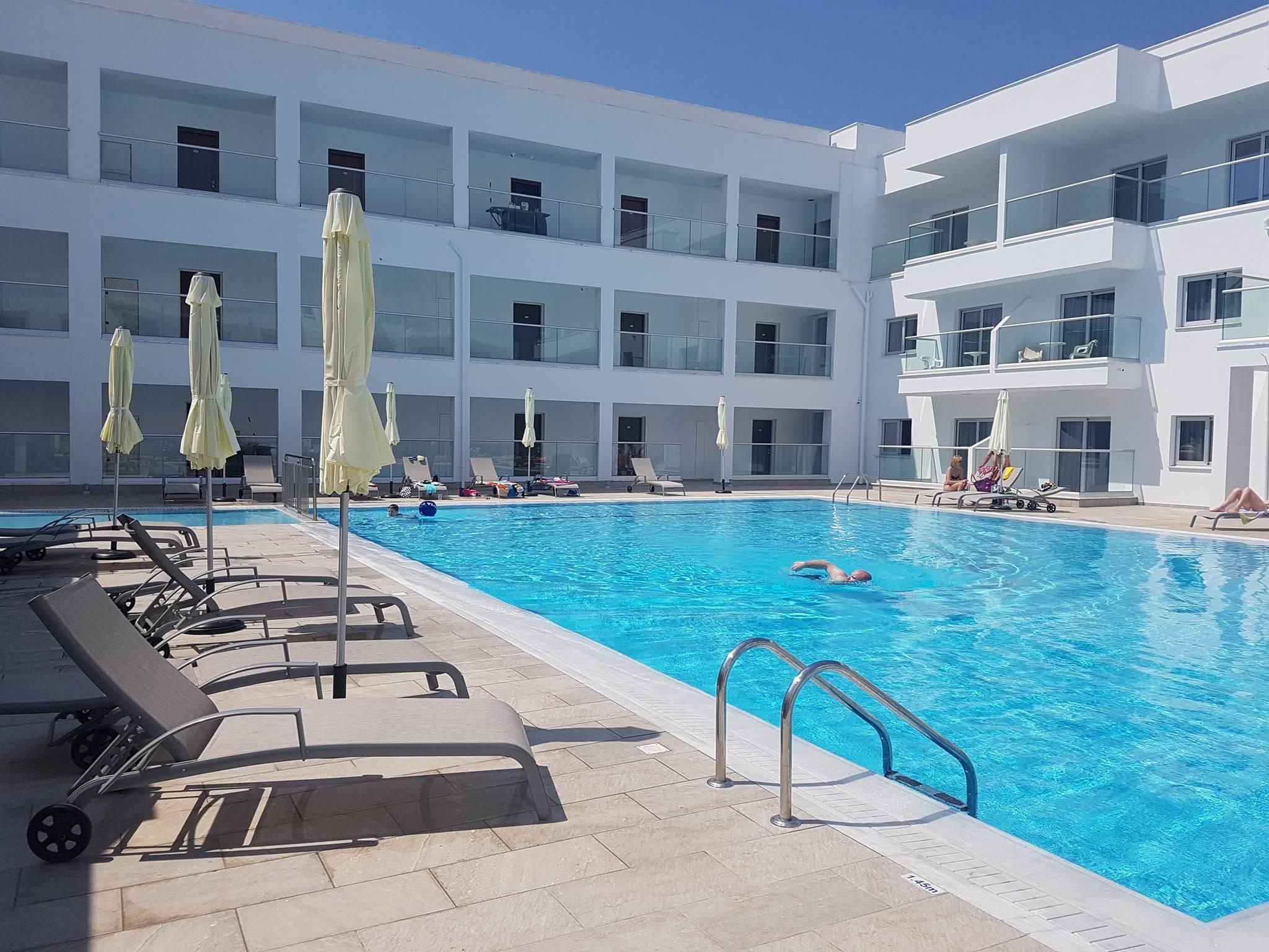 CYPR - LATO 2018: Evabelle Napa Hotel Apartments***, 15 dni (16-30.07.2018 r.), bez wyżywienia: 2 + 2