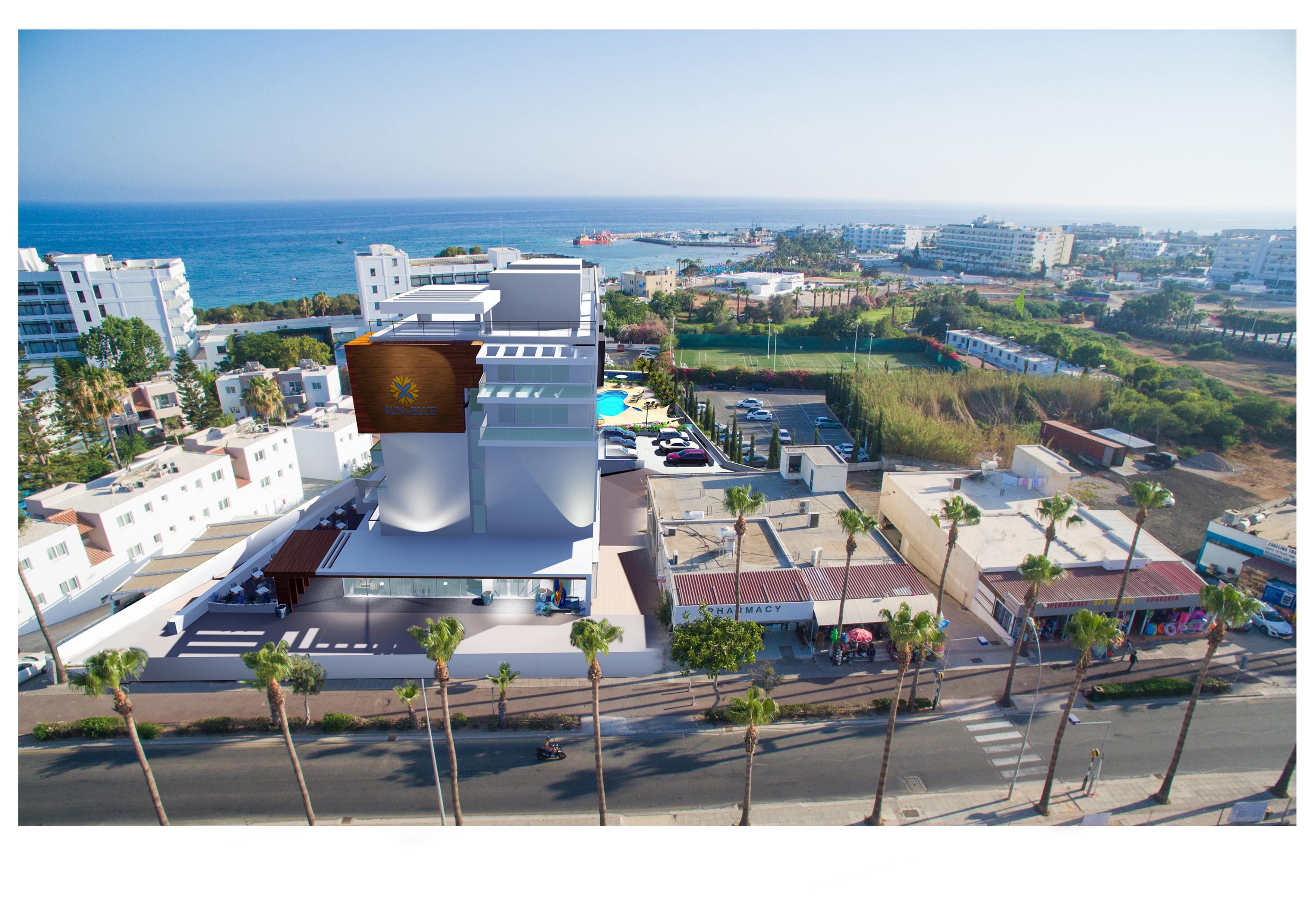 CYPR - LATO 2018: Sun N Blue Boutique Hotel****, 8 dni (18-25.05.2018 r.), all inclusive: 2979,00 PLN/os. dorosła