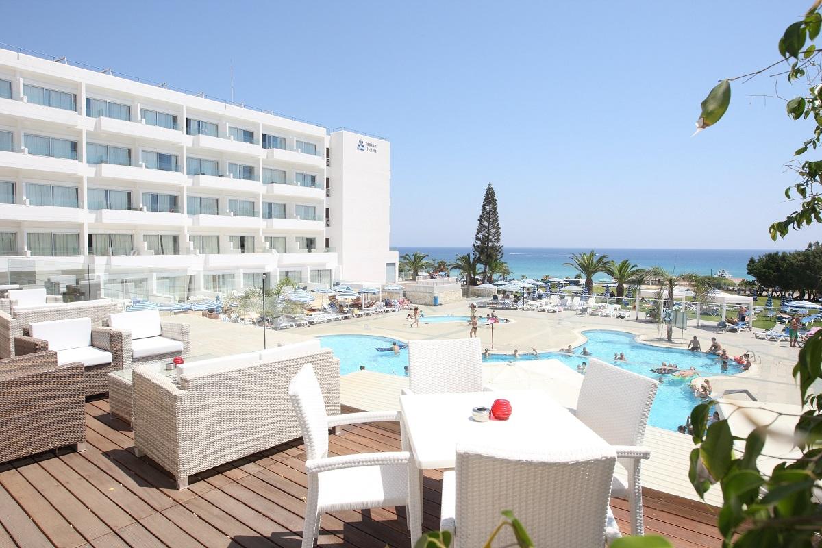 MAJÓWKA 2019 - CYPR: Odessa Beach Hotel****, 8 dni (27.04-04.05.2019 r.), all inclusive: 3198,00 PLN/os. dorosła