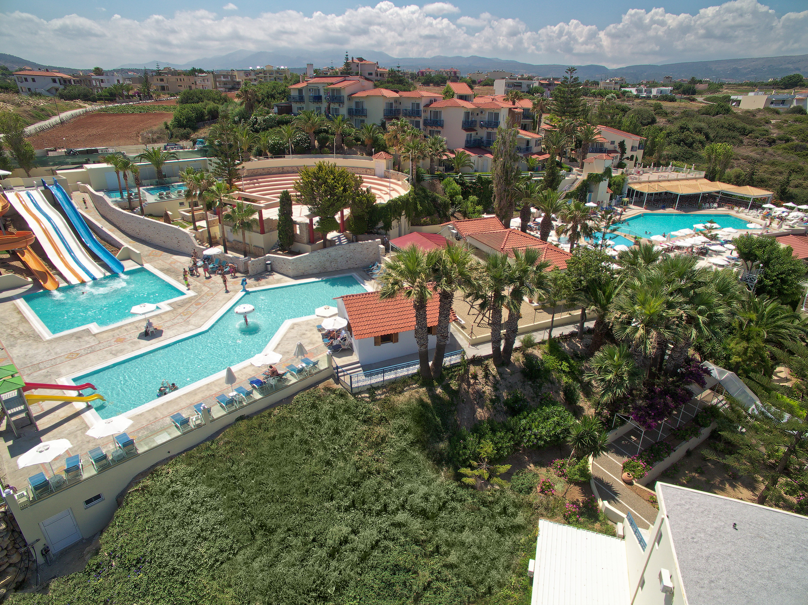 GRECJA - LATO 2019: Rethymno Mare & Waterpark****, 8 dni (01-08.07.2019 r.), all inclusive: 2 + 2